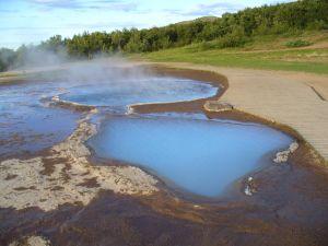 Gorące źródła w Islandii